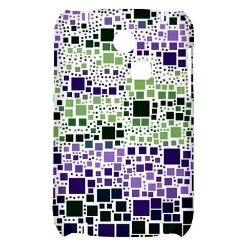 Block On Block, Purple Samsung S3350 Hardshell Case
