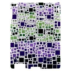 Block On Block, Purple Apple iPad 2 Hardshell Case