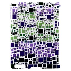 Block On Block, Purple Apple iPad 2 Hardshell Case (Compatible with Smart Cover)