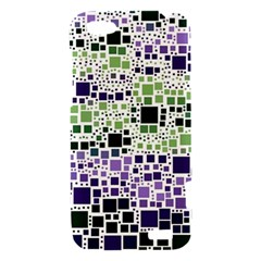 Block On Block, Purple HTC One V Hardshell Case