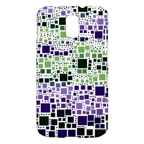 Block On Block, Purple Samsung Galaxy S II Skyrocket Hardshell Case