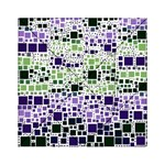 Block On Block, Purple Acrylic Tangram Puzzle (6  x 6 ) Front