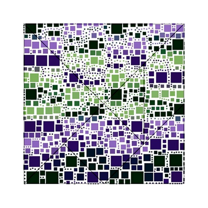 Block On Block, Purple Acrylic Tangram Puzzle (6  x 6 )