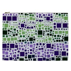 Block On Block, Purple Cosmetic Bag (xxl)