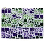 Block On Block, Purple Cosmetic Bag (XXL)  Front