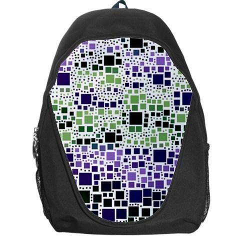 Block On Block, Purple Backpack Bag
