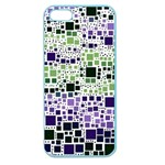 Block On Block, Purple Apple Seamless iPhone 5 Case (Color) Front