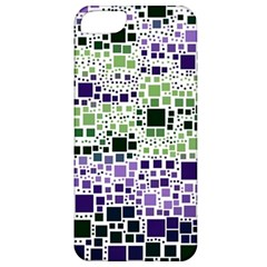 Block On Block, Purple Apple Iphone 5 Classic Hardshell Case