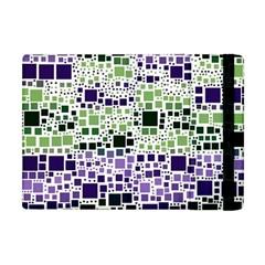 Block On Block, Purple Apple iPad Mini Flip Case
