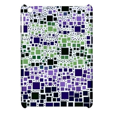 Block On Block, Purple Apple iPad Mini Hardshell Case