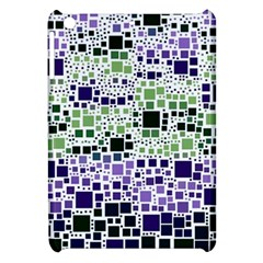 Block On Block, Purple Apple iPad Mini Hardshell Case