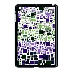 Block On Block, Purple Apple Ipad Mini Case (black)