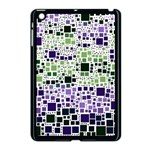 Block On Block, Purple Apple iPad Mini Case (Black) Front