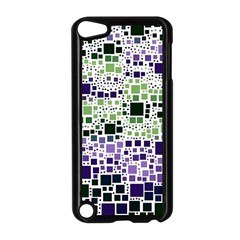 Block On Block, Purple Apple Ipod Touch 5 Case (black)