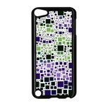 Block On Block, Purple Apple iPod Touch 5 Case (Black) Front