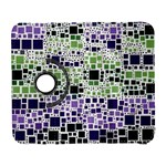 Block On Block, Purple Samsung Galaxy S  III Flip 360 Case Front