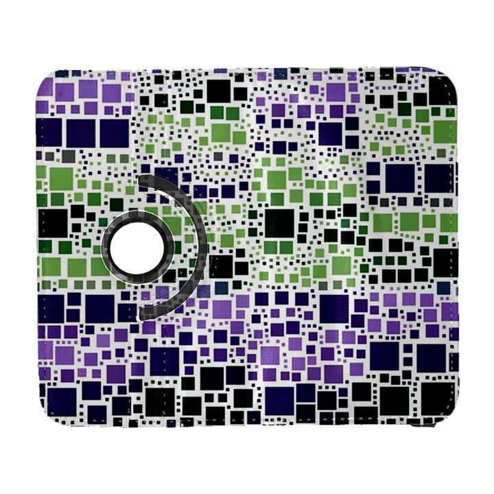 Block On Block, Purple Samsung Galaxy S  III Flip 360 Case