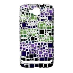 Block On Block, Purple Samsung Ativ S i8750 Hardshell Case