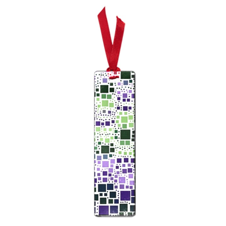 Block On Block, Purple Small Book Marks