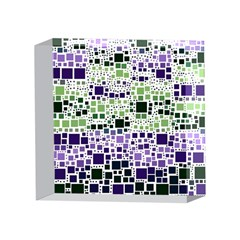 Block On Block, Purple 4 x 4  Acrylic Photo Blocks