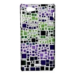 Block On Block, Purple Sony Xperia J