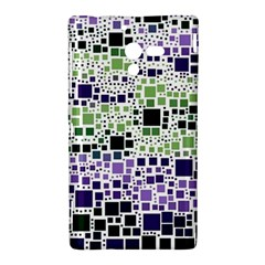 Block On Block, Purple Sony Xperia ZL (L35H)