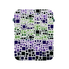 Block On Block, Purple Apple iPad 2/3/4 Protective Soft Cases