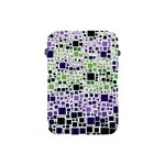 Block On Block, Purple Apple iPad Mini Protective Soft Cases Front