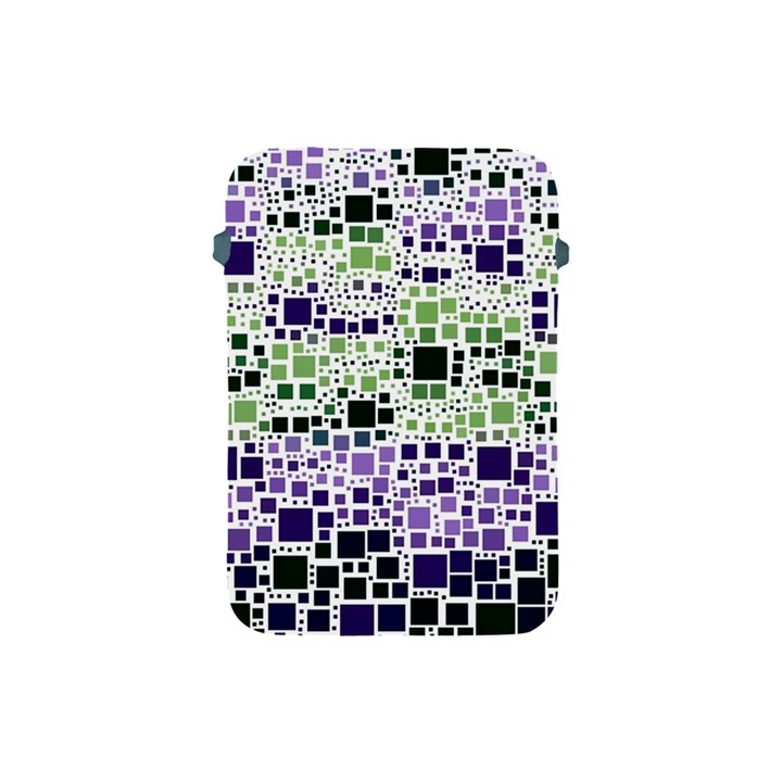 Block On Block, Purple Apple iPad Mini Protective Soft Cases
