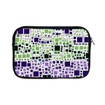 Block On Block, Purple Apple iPad Mini Zipper Cases Front