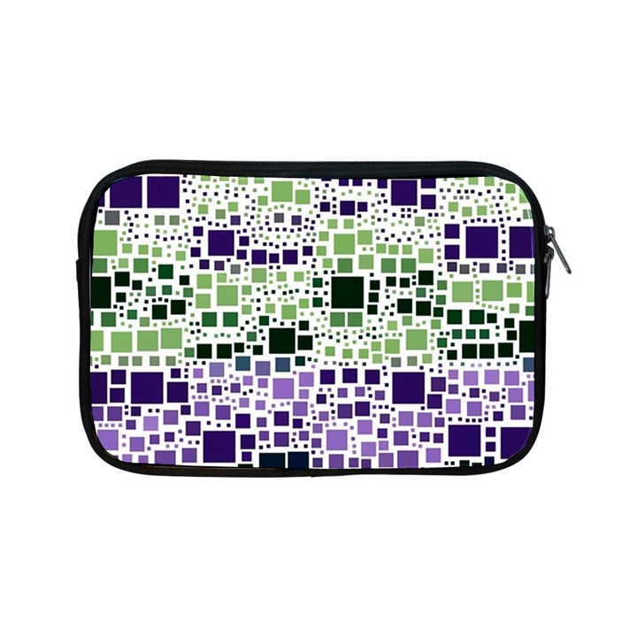 Block On Block, Purple Apple iPad Mini Zipper Cases