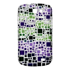 Block On Block, Purple Samsung Galaxy Express I8730 Hardshell Case