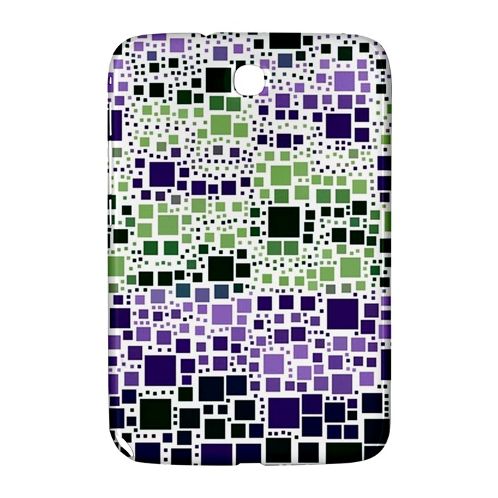 Block On Block, Purple Samsung Galaxy Note 8.0 N5100 Hardshell Case