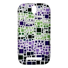 Block On Block, Purple HTC One SV Hardshell Case