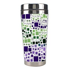 Block On Block, Purple Stainless Steel Travel Tumblers