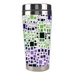 Block On Block, Purple Stainless Steel Travel Tumblers Center