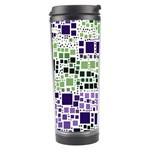 Block On Block, Purple Travel Tumbler Right