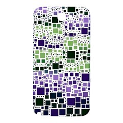 Block On Block, Purple Samsung Note 2 N7100 Hardshell Back Case