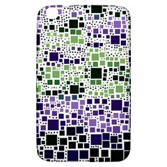 Block On Block, Purple Samsung Galaxy Tab 3 (8 ) T3100 Hardshell Case