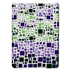 Block On Block, Purple Ipad Air Hardshell Cases