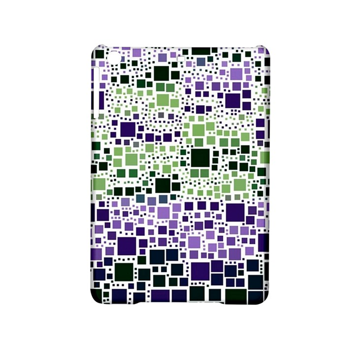 Block On Block, Purple iPad Mini 2 Hardshell Cases