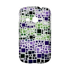 Block On Block, Purple Samsung Galaxy S6310 Hardshell Case