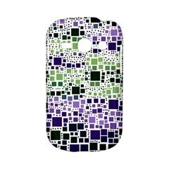 Block On Block, Purple Samsung Galaxy S6810 Hardshell Case