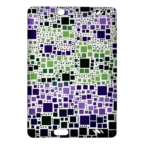 Block On Block, Purple Amazon Kindle Fire HD (2013) Hardshell Case