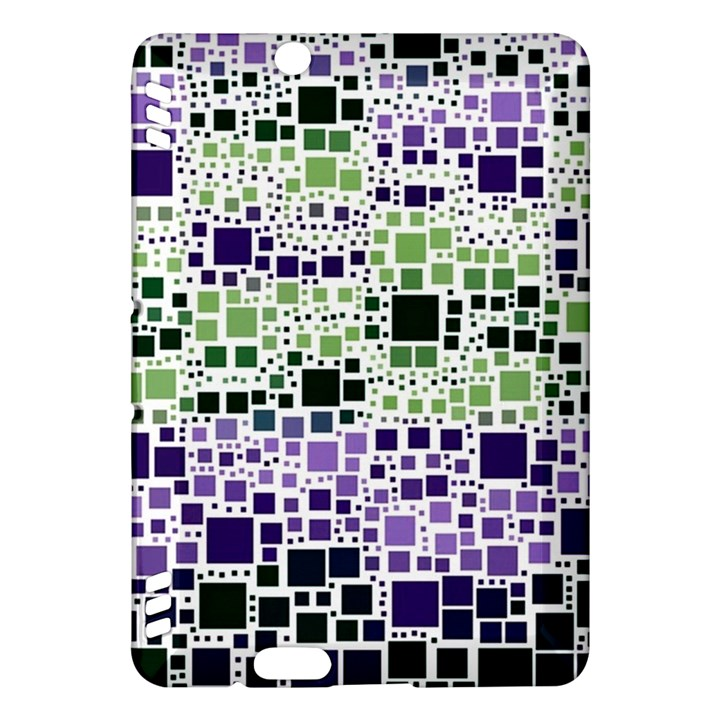 Block On Block, Purple Kindle Fire HDX Hardshell Case