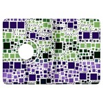Block On Block, Purple Kindle Fire HDX Flip 360 Case Front