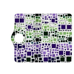 Block On Block, Purple Kindle Fire HDX 8.9  Flip 360 Case