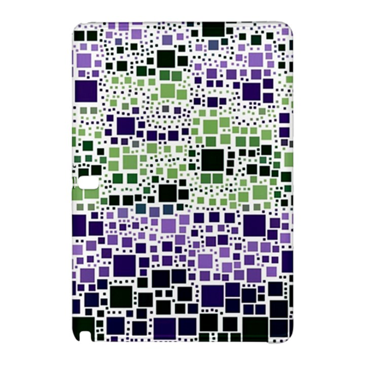 Block On Block, Purple Samsung Galaxy Tab Pro 10.1 Hardshell Case