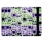 Block On Block, Purple Samsung Galaxy Tab Pro 12.2  Flip Case Front
