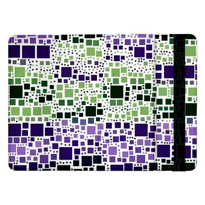 Block On Block, Purple Samsung Galaxy Tab Pro 12.2  Flip Case